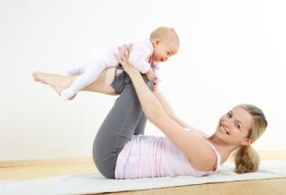 El yoga es una actividad recomendable para bebés