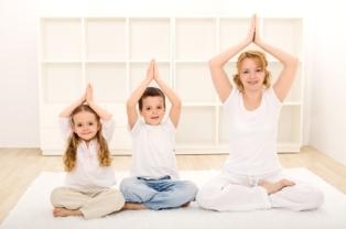 El yoga ayuda a los niños a canalizar su energía