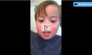 Vídeo viral: niño pronunciando el abecedario   Elbebe.com