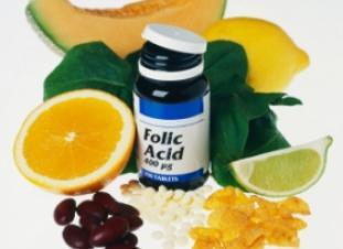 Acido fólico y elementos naturales que lo contienen