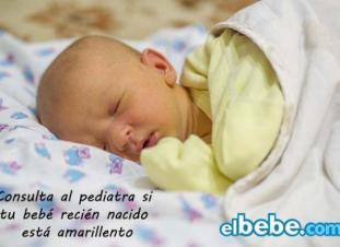 La ictericia del recién nacido o ictericia neonatal: síntomas y tratamiento