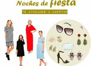 Vestidos de fiesta para embarazadas y complementos | Elbebe.com