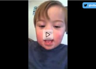 Vídeo viral: niño pronunciando el abecedario | Elbebe.com