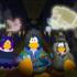 Únete a la fiesta de Halloween del club Penguin