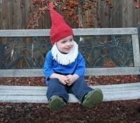 Disfraz de gnomo para niños