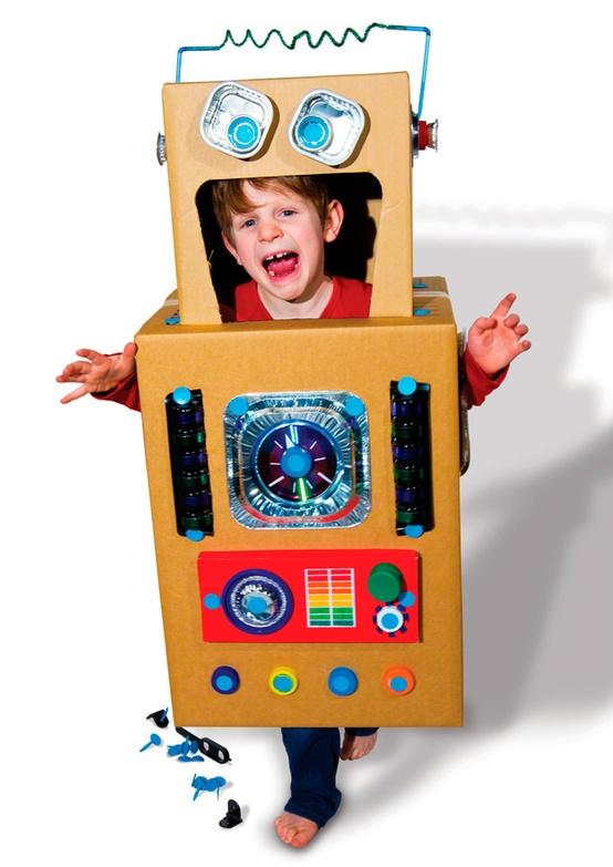 disfraz para ninos de robot
