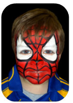 Maquillaje de Spiderman